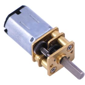 Micro-motor 75:1 HP - 3mm D shaft - metal gearbox