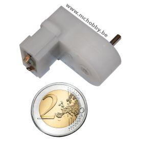 Mini moteur 120:1 MP - Axe 3mm D - engrenage plastique