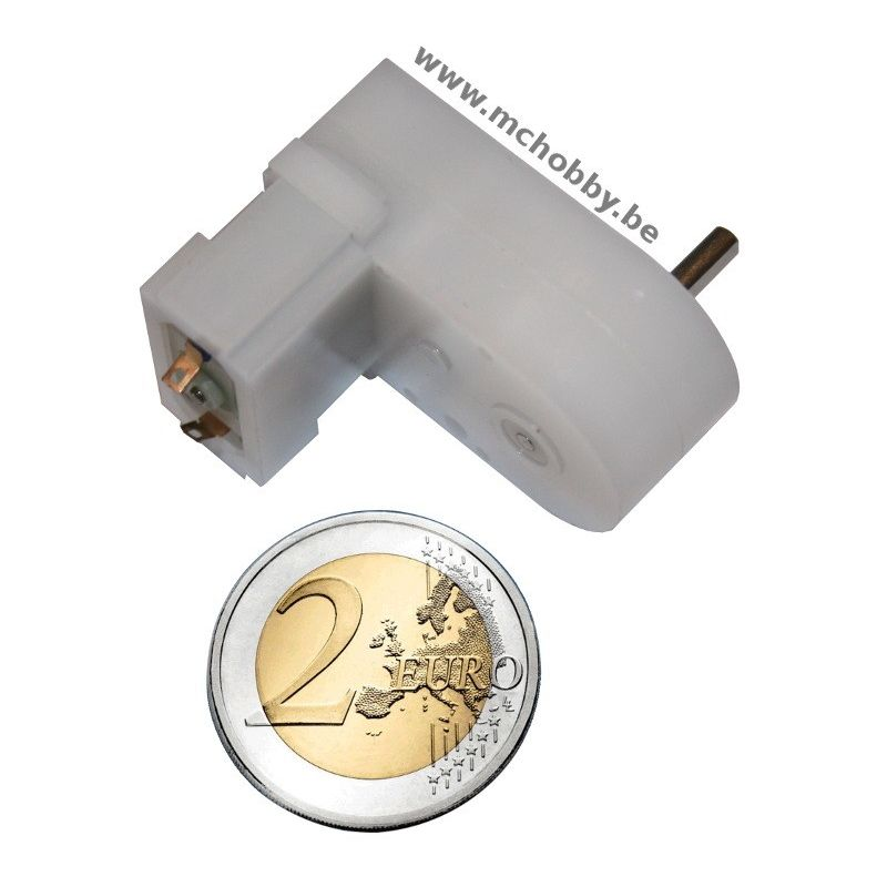 Mini moteur 120:1 MP - engrenage plastique
