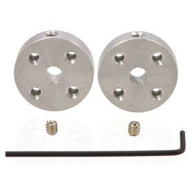[T] - Coupleur/Hub axe 4mm - vis 4-40