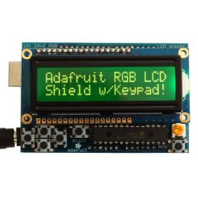 [T] - RGB LCD Shield - 2 pins - NEGATIVE DISPLAY + Keypad
