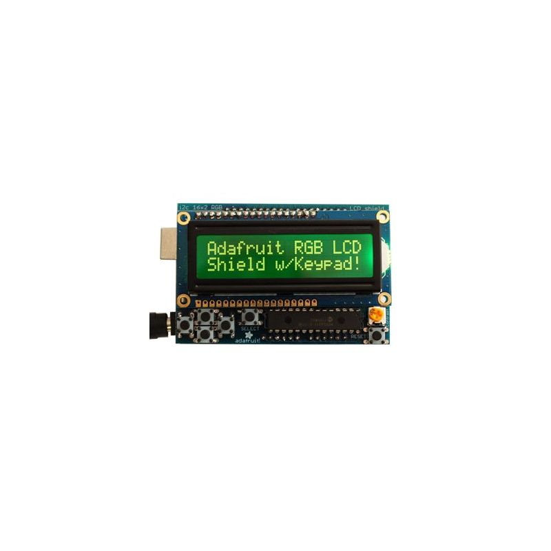 Shield LCD RGB - 2 pins - AFFICHAGE NEGATIVE