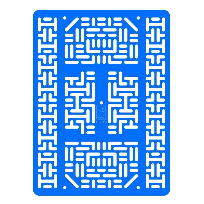Plaque de prototypage/extension robotique - Etroit - Noir