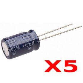 5x Capacitor 1000uF - Electrolytic - 25V