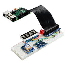 PI Cobbler PLUS + EXTRA + nappe - prototypage pour Raspberry PI 2, Pi Zero & B PLUS