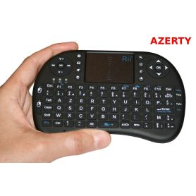 Mini AZERTY keyboard - ergonomic - Wireless