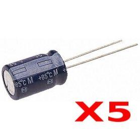 [T] - 5 x Capacités 10uF