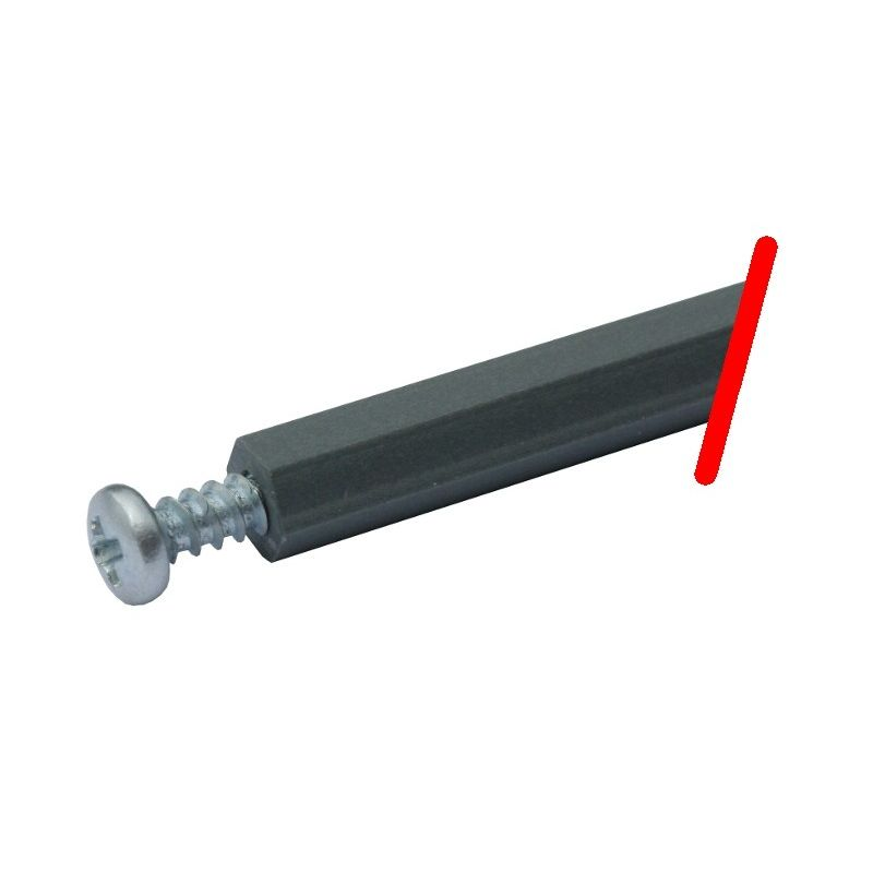 Entretoise Hexa PVC 500mm