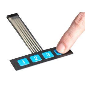 4 keys membrane keypad
