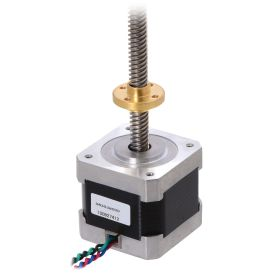 Stepper Motor + 28cm screw, 200 pas