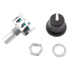 Encodeur Rotatif 24PPR cranté + poussoir + extra