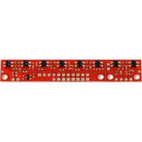 [T] - QTR-8RC line detector (IR LINE TRACKER)