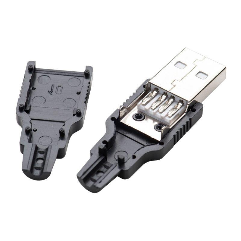 USB Type A Male - Connecteur DIY