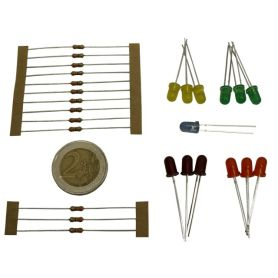 5mm LEDs assortment (mini kit - various color)