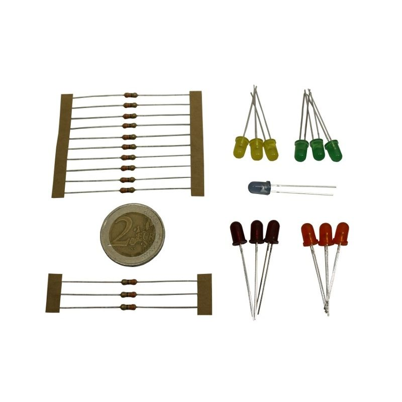 Assortiment LEDs 5mm (mini kit)