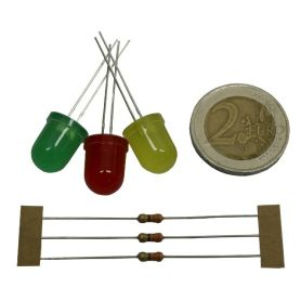 Assortiment LEDs 10mm (mini kit)