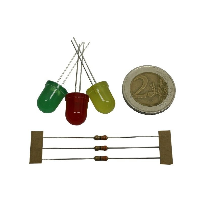 Assortiment LEDs 10mm (mini kit)