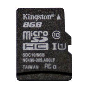 Carte microSD 8Go CLASS 10, UHS 1