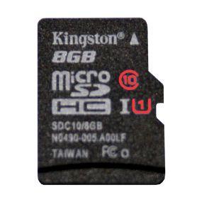 Carte SD/microSD 8Go CLASS 10, UHS 1