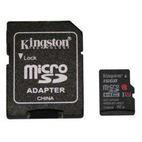 Carte SD/microSD 16Go CLASS 10, UHS 1