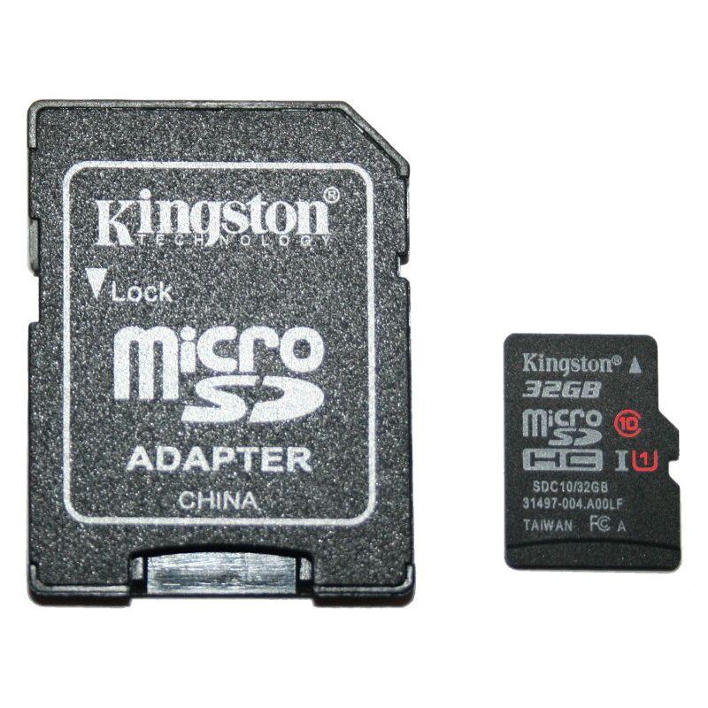 Carte SD/microSD 32Go CLASS 10, UHS 1