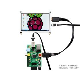 TFT HDMI for Raspberry-PI - 800x480 - 5""