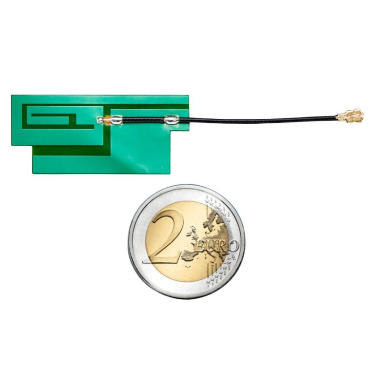 Antenne GSM Quad-Band - 3dBi uFL - sticker