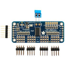 [T] - Adafruit PWM Servo Controller 16 channels 12 bit - I2C interface - PCA9685