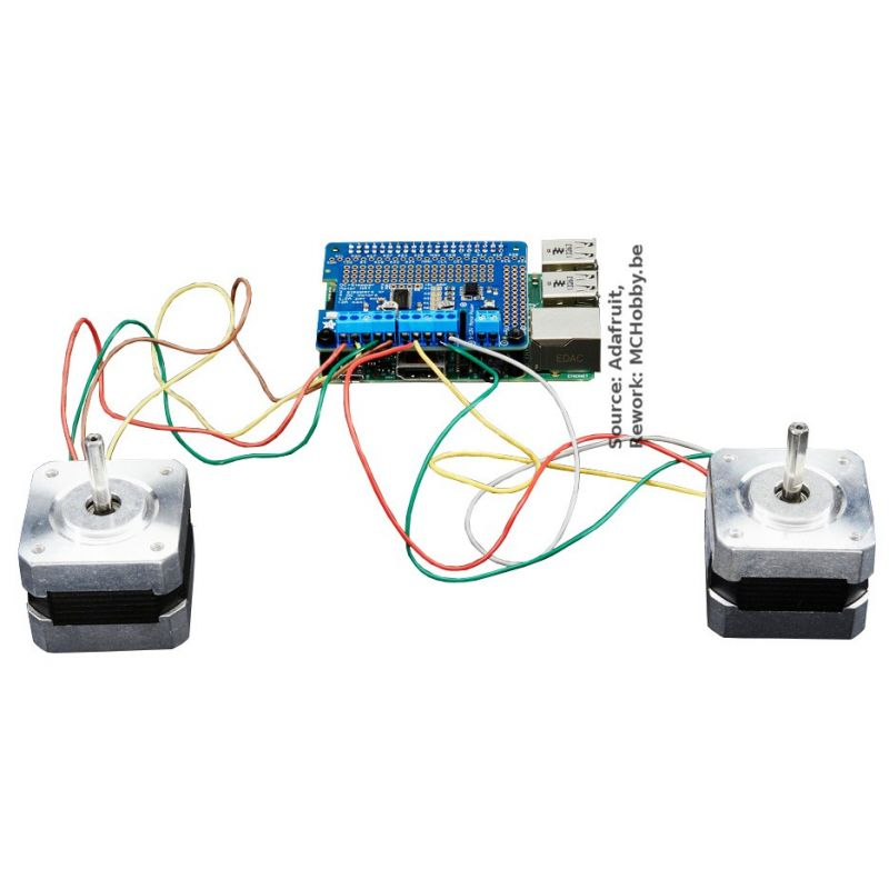 Brancher le moteur pas à pas Arduino