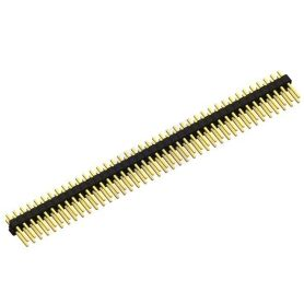 [T] - 1 x Pin Header 2 RANGS de 40 broches droit (normal)
