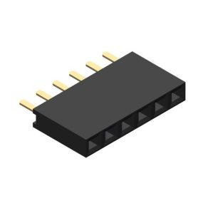 Board connector - 6 pins - 2.54mm