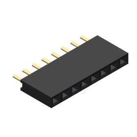 1x8 pins female connector