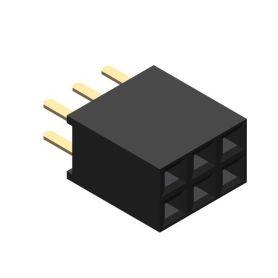 [T] - Connecteur Femelle 2x3 broches