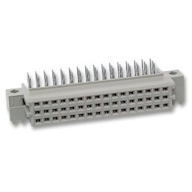 Socket TE-Connectivity - AMP DIN41612 R/A - 48 Broches