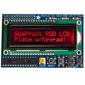 RGB LCD display for Raspberry-Pi - NEGATIVE DISPLAY + Keypad