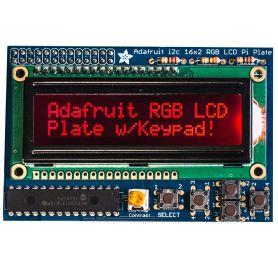 [T] - Raspberry LCD RGB - AFFICHAGE NEGATIF + Keypad