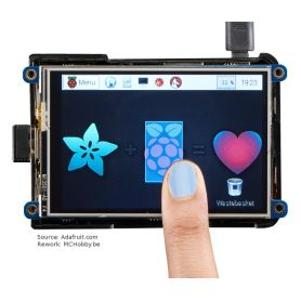 "TFT display 3.5"" for Raspberry-Pi (PiTFT plus, assembled)"