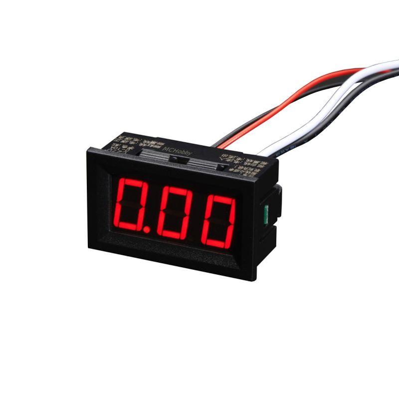 Afficheur - Mesure de courant 0 à 9.99A