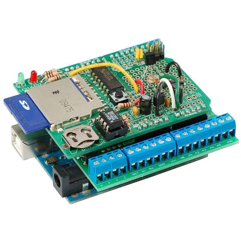 Shield de prototypage avec bornier pour arduino mchobby