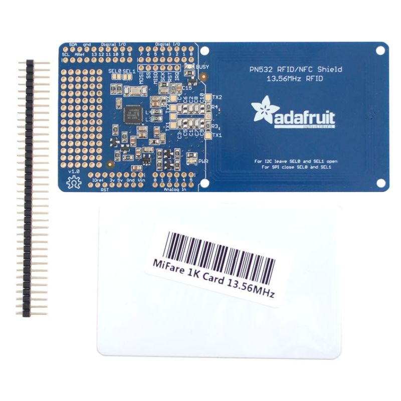 RFID/NFC Shield pour Arduino + EXTRA