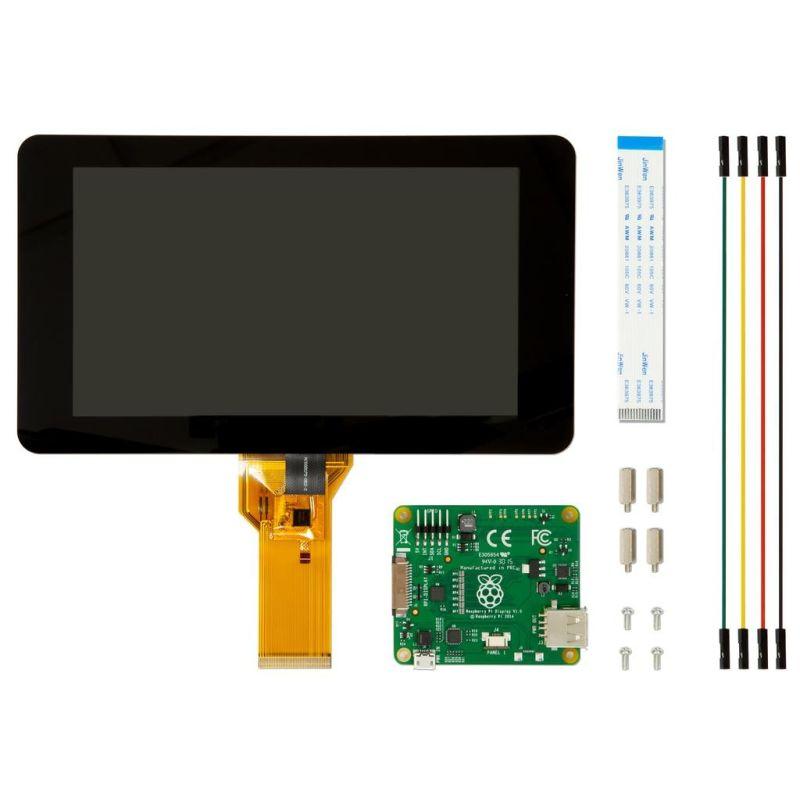 """TFT DSI Tactile pour Pi - 800x400px - 7"""""""