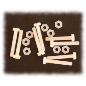 8 x Vis en nylon (3 x 20mm)