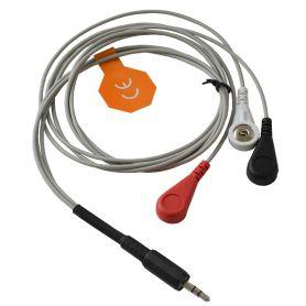 Câble pro ECG-EKG/EMG pour électrode gel