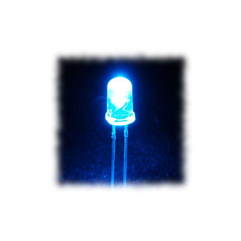25 LEDs Super Brillantes blanc froid