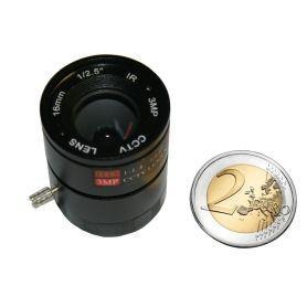 16mm Lens 1:1.4 for OV5647 or IMX219 camera