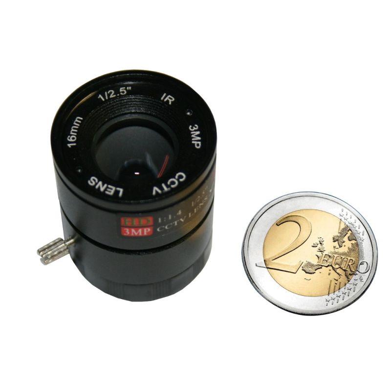 Objectif 16mm 1:1.4 pour camera OV5647