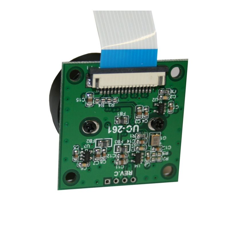 ▷ 5MP Pi Camera - removable/interchangeable lens - MCHobby - Vente
