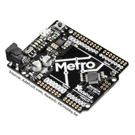 """[T] - Adafruit METRO """"super mince"""" - ATmega 328 - connecteur non soudé"""