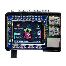"""PiTFT Mini 320x240 2.2"""" (no touch) for Raspberry Pi"""