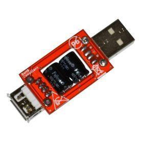 [T] - Capacité USB, filtre Low ESR, pour périphérique USB énergivore